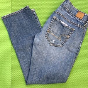 American Eagle Crop Jeans size 2